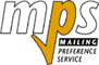 Service logo for Mailing Preference Service (MPS)