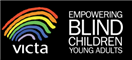 Service logo for Victa - Visually Impaired Children Taking Action